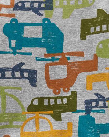 Pyjama 1 pièce en coton ajusté sans...