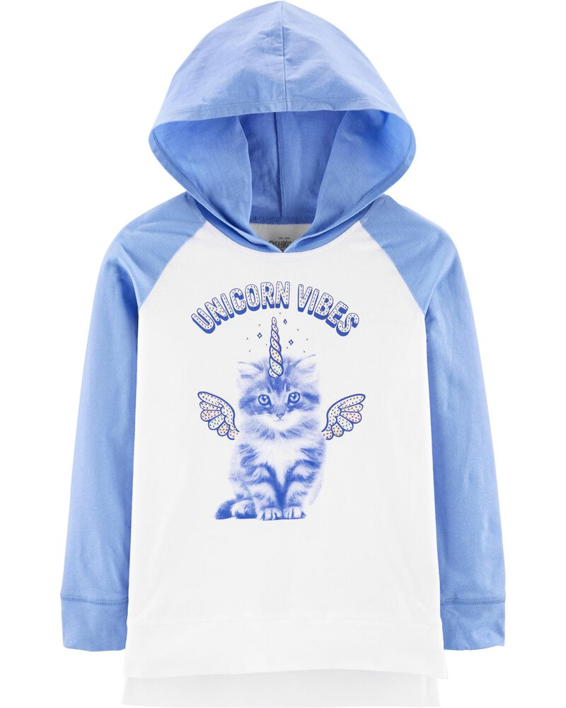 Cat Unicorn Hooded Tunic, , hi-res