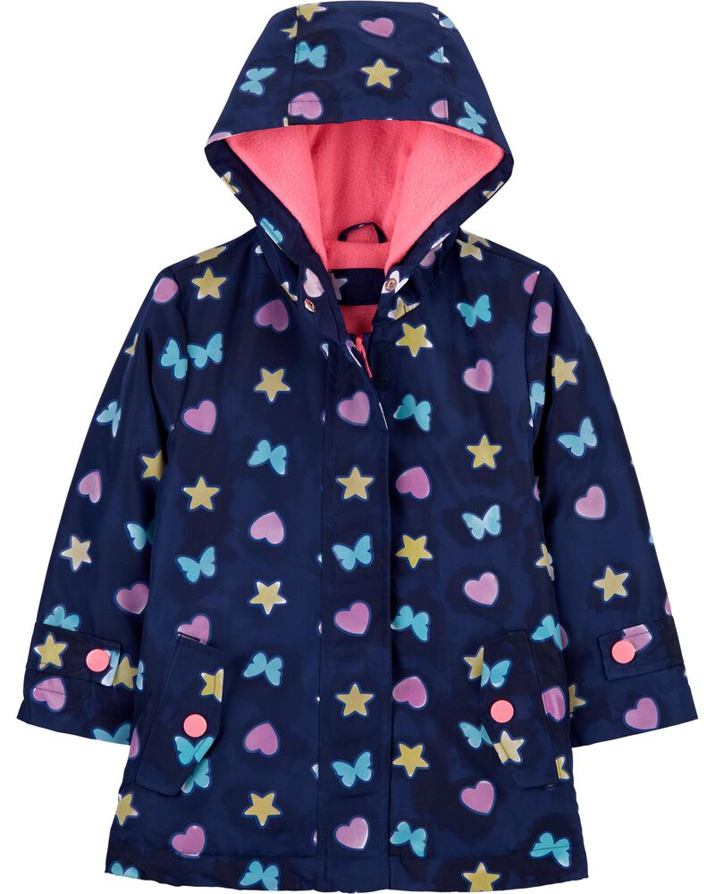 Butterfly Colour-Changing Raincoat, , hi-res