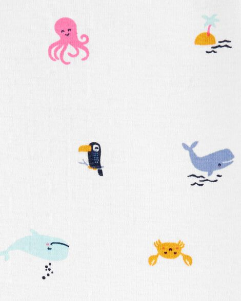 Ensemble Little Character 3 pièces à baleine