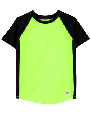 T-shirt de sport à manches raglan f...