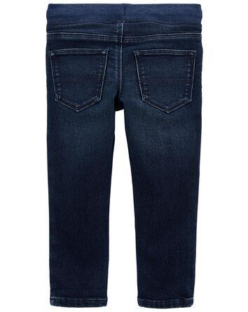 Jeans de coupe décontractée légèrem...