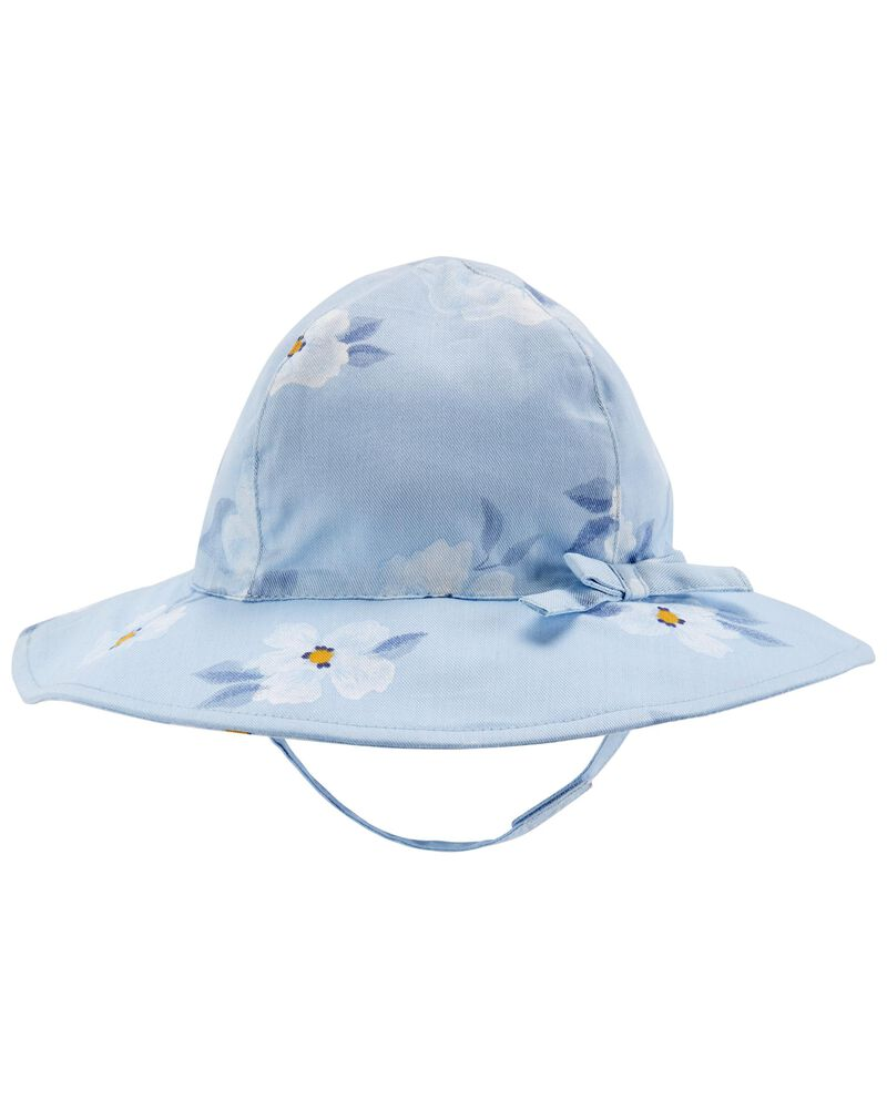 Chapeau de soleil fleuri, , hi-res