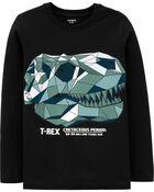 T-Rex Skull Jersey Tee, , hi-res