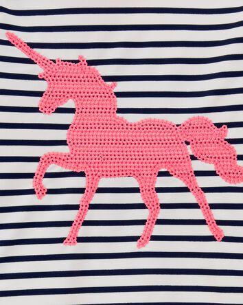 Unicorn Stripe Rashguard Set