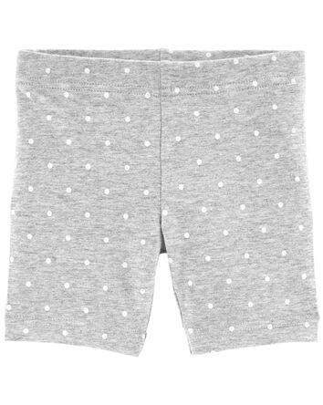 Polka Dot Bike Shorts