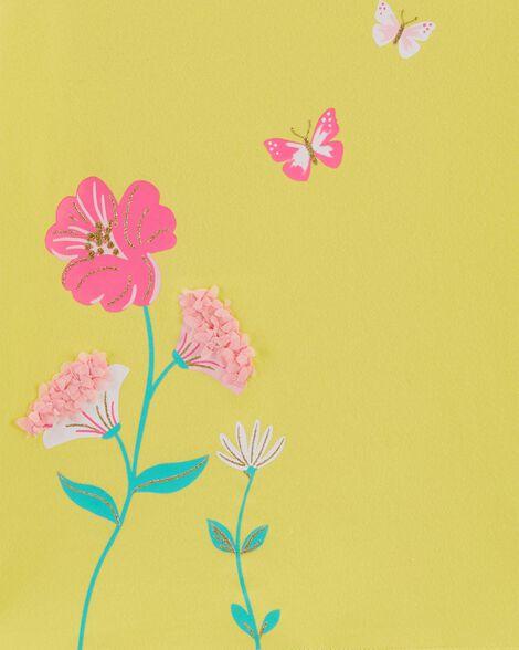 Haut extensible à fleurs