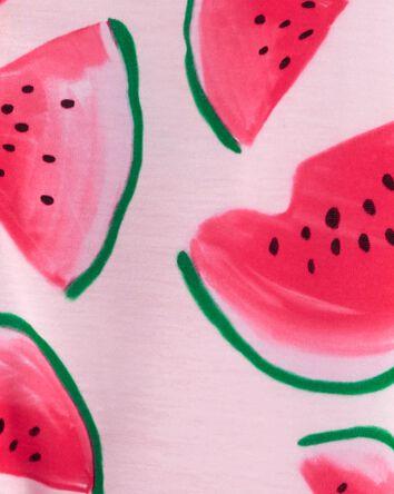 1-Piece Watermelon Loose Fit Footie...