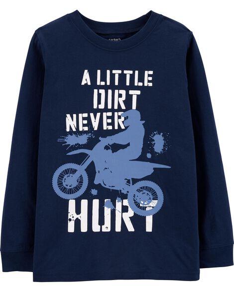 T-shirt de motocross en jersey