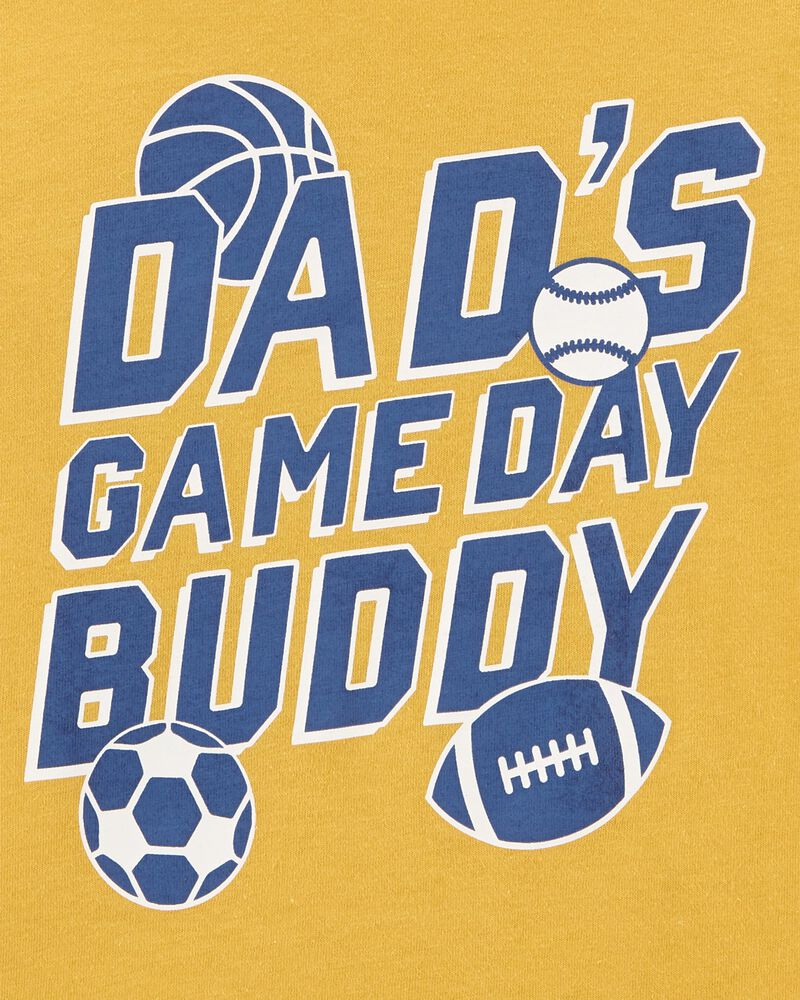 T-shirt en jersey Dad baseball, , hi-res