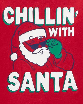 Chillin' Holiday Jersey Tee