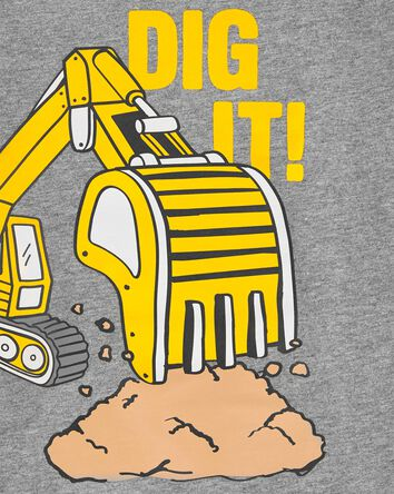T-shirt en jersey Dig It