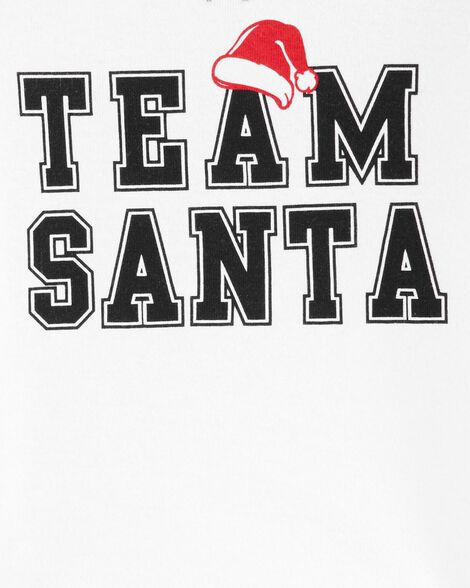 2-Piece Team Santa Snug Fit Cotton PJs