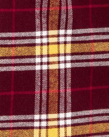 2-Piece Flannel Button-Front & Jean...