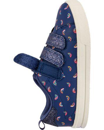 Rainbow Triple Strap Sneakers