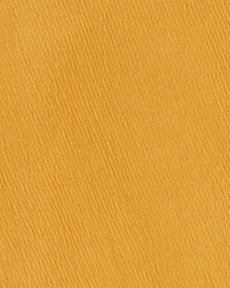 Lace Trim Tie-Hem Top, , hi-res