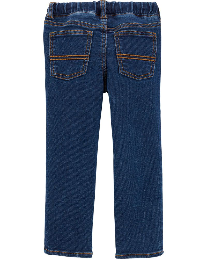 Pull-On Denim Pants, , hi-res