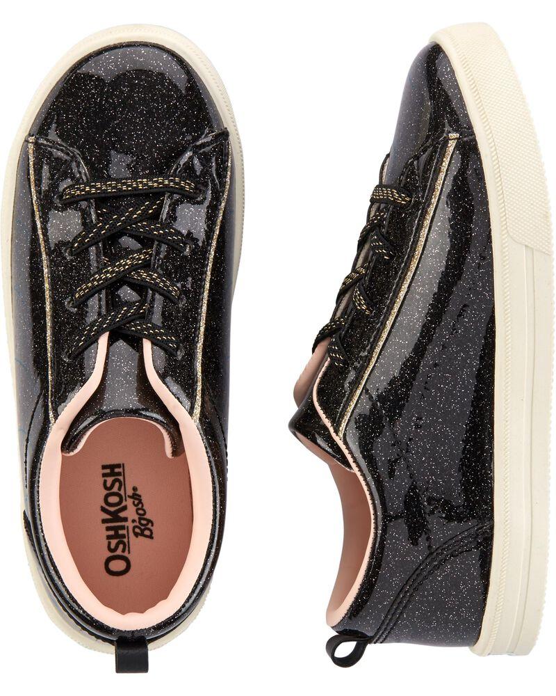 Chaussures à enfiler noires, , hi-res