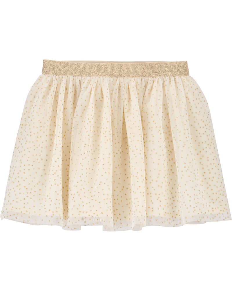 Sparkle Polka Dot Tulle Skirt, , hi-res