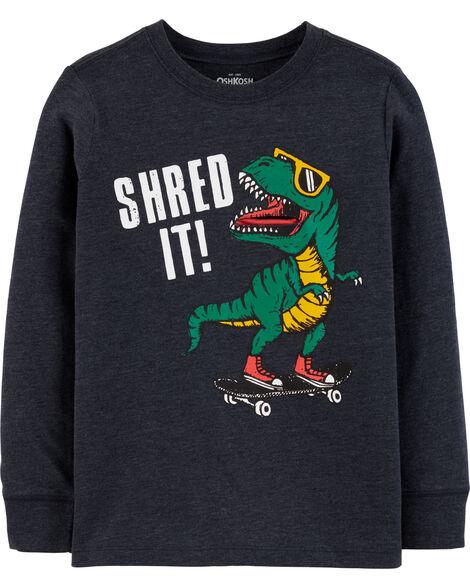 T-shirt à dinosaure