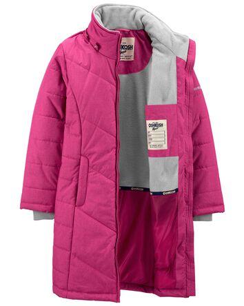 Hooded Long Puffer Coat