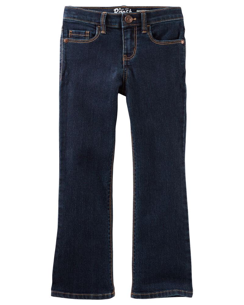 Jeans botte étroite  - délavage héritage, , hi-res