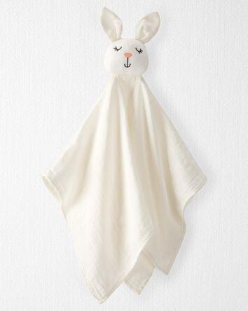 Organic Cotton Muslin Bunny Lovie