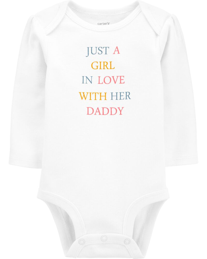 A Girl In Love With Her Daddy Original Bodysuit, , hi-res