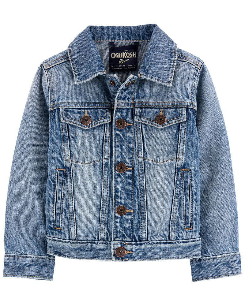 Classic Denim Jacket, , hi-res