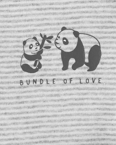 Ensemble Little Character 3 pièces panda