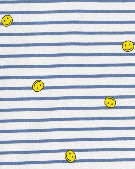 Striped Smiles Tee