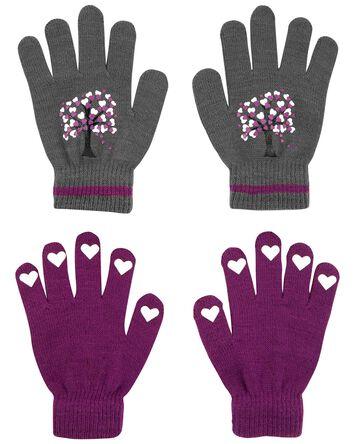 KOMBI 2-Pack Heart Tree Mini Glove...