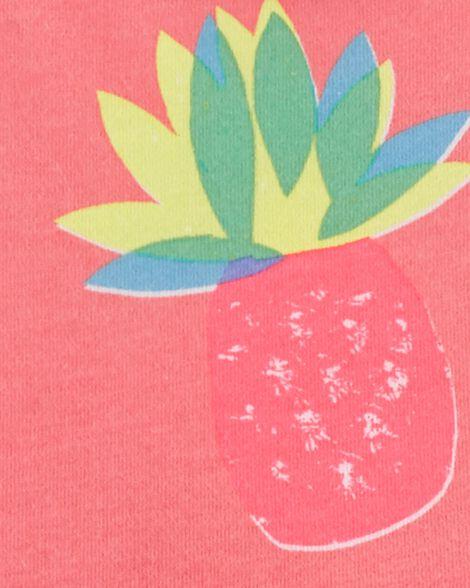 Robe sans manches à ananas