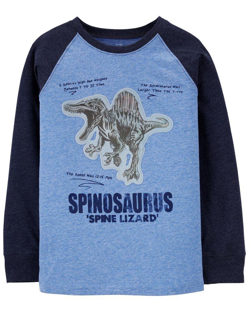 T-shirt à dinosaure et énoncé Action, , hi-res