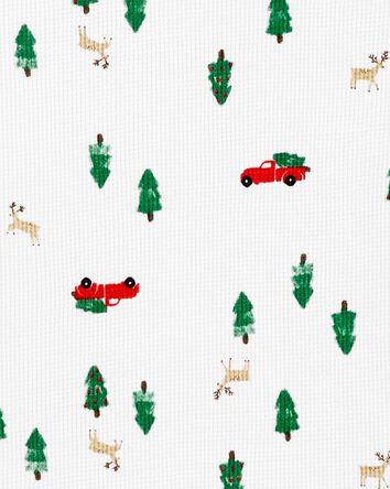 Pyjamas 2 pièces en coton ajusté de...