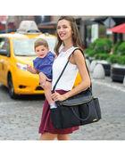 Chelsea Downtown Chic Diaper Satchel, , hi-res