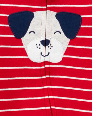 Dog 2-Way Zip Cotton Sleep & Play