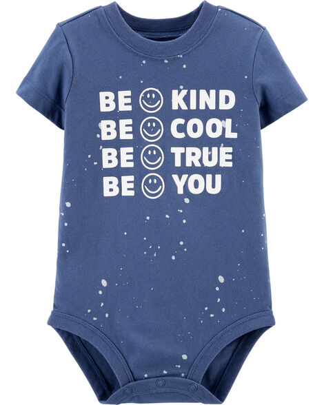 B'gosh Be You Glow-in-the-Dark Bodysuit