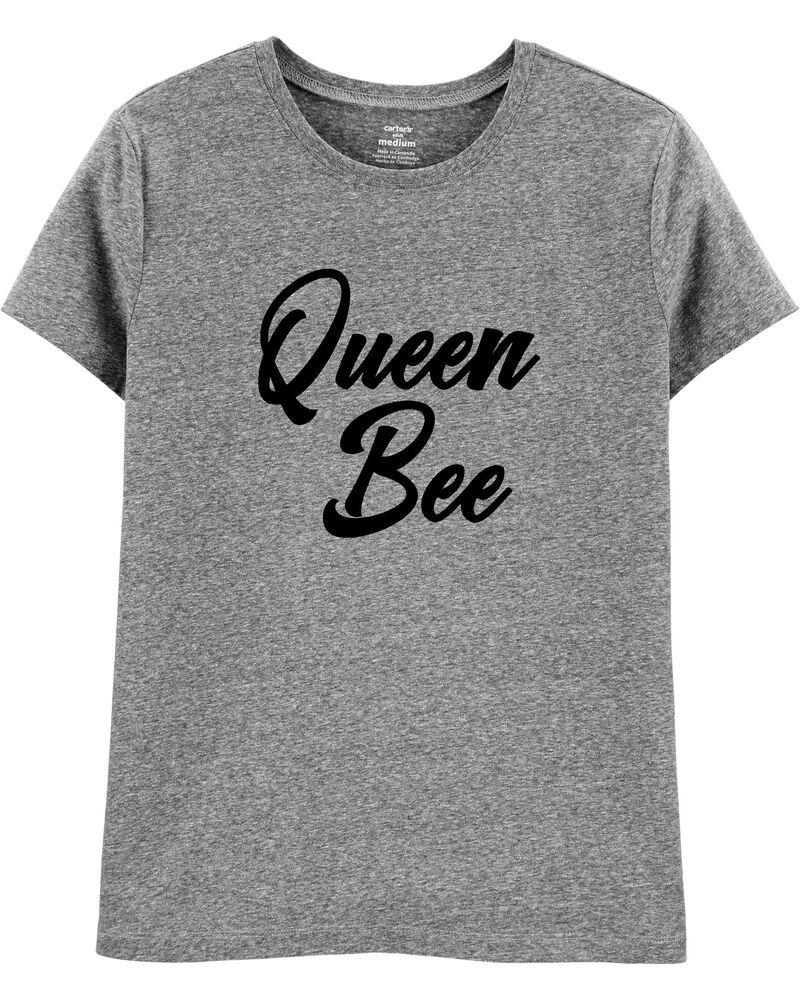 Adult Women's Queen Busy Bee Jersey Tee, , hi-res