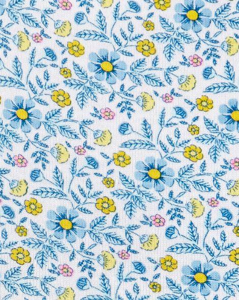 Ensemble 2 pièces robe cache-couche fleurie et cardigan
