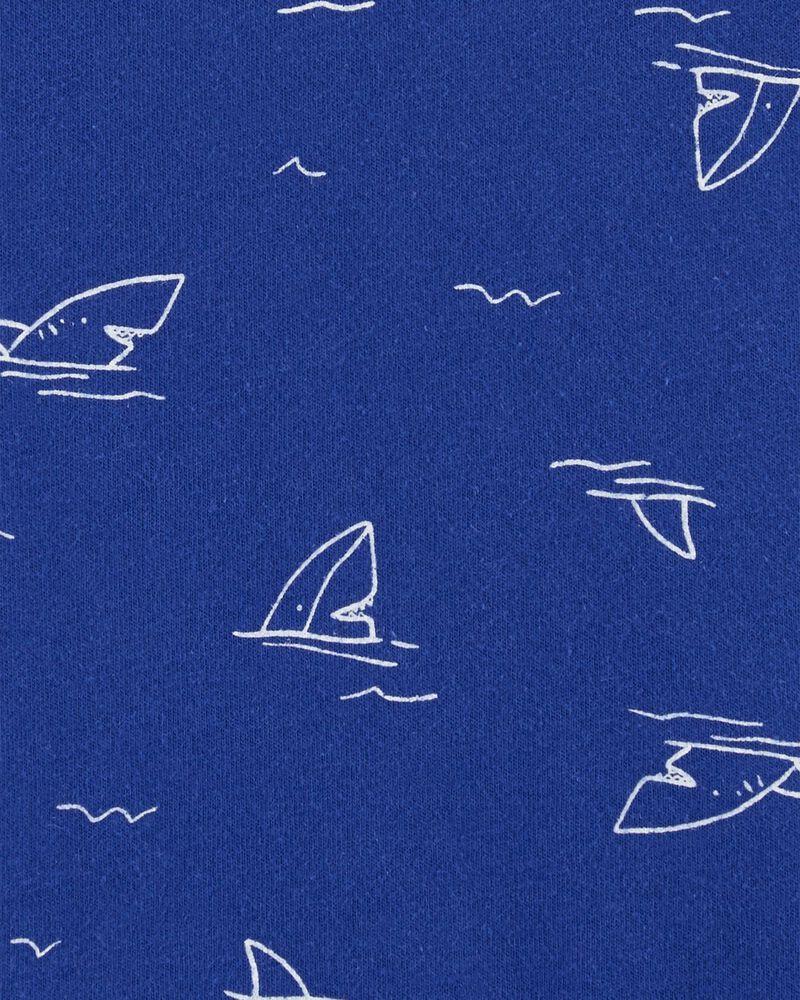 Shark Jersey Romper, , hi-res