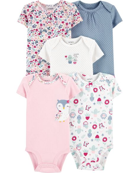 5-Pack Owl Original Bodysuits