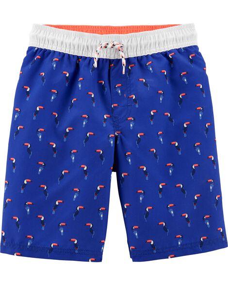 Toucan Swim Trunks