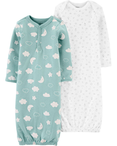 2-Pack Sleeper Gowns