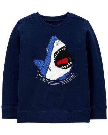 Shark Fleece Pullover