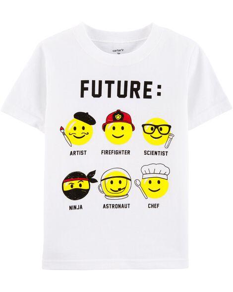T-shirt en jersey Future Emojis