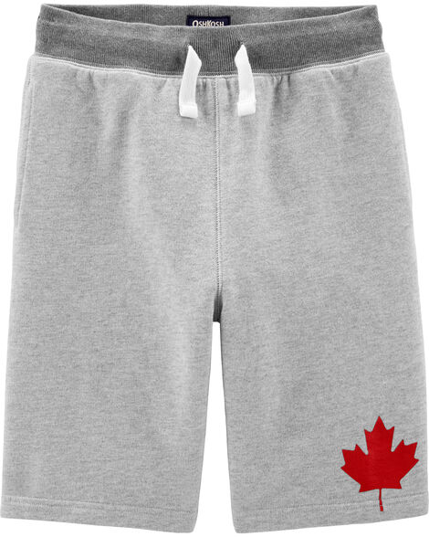 Canada Day French Terry Shorts