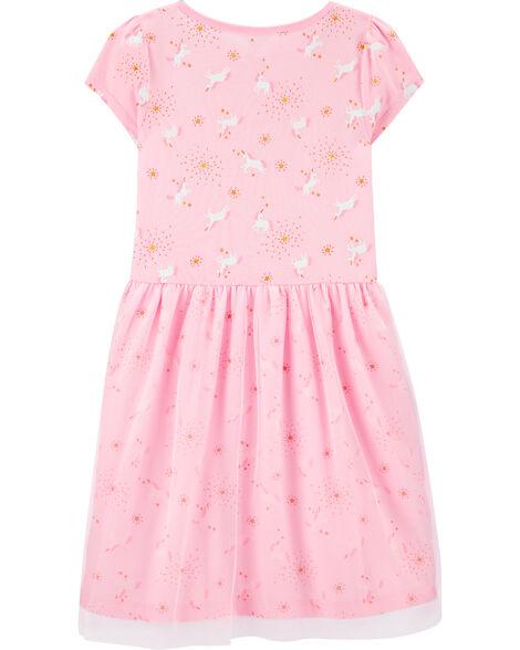 Unicorn Tutu Jersey Dress