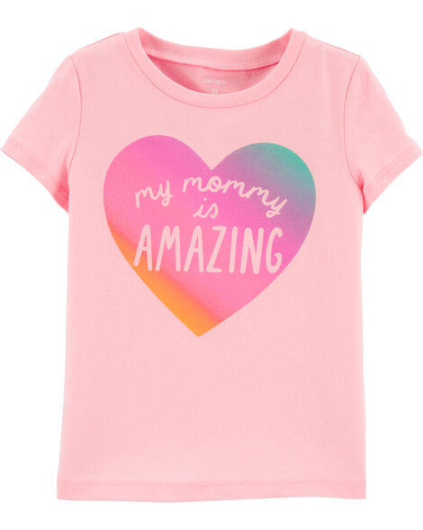 T-shirt en jersey Mommy Is Amazing