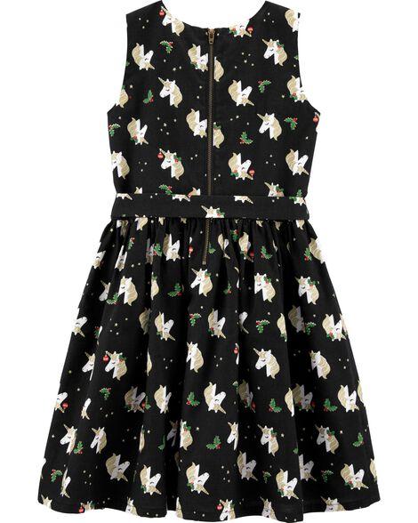 Unicorn Holiday Dress